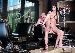 Johnny Sins gets his on all occasions hard love wand eaten apart from Amber Cox