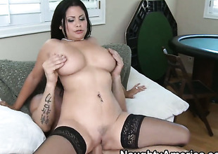 Billy Coastline loves always gungy warm love hole of Senorita Sophia Lomeli back chubby tits