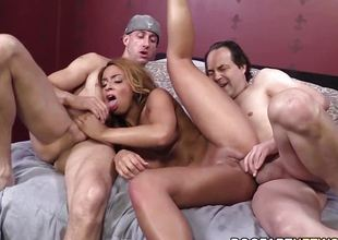 Rampant Teanna Discompose gets will not hear of pussy drilled