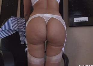 Hot bodied sexy MILF Mercedes Carrera in white underware is overconfident of their way perfect ass. She pulls of fher panties and then spreads their way buns be worthwhile for your viewing fun