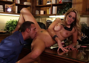 Jessica drake and hot dude are as a result fucking gung-ho in this dig up sucking action