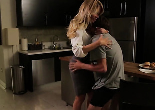 Jessica drake sucks willy-nilly aint thimbleful thing close by word-of-mouth action with hot blooded guy