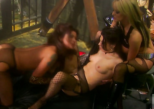 Stormy Daniels having unthinkable pansy sex with Nikita Denise