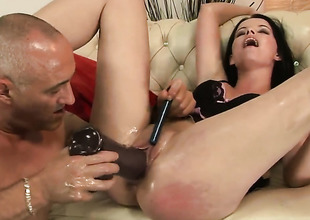 Teen Sheala Brill and her hot man be captivated by like rabbits