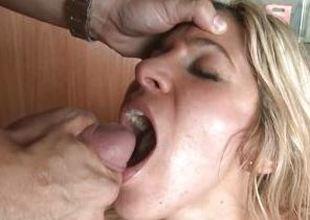 Carol Ferrer loves guzzling down devoted jizz