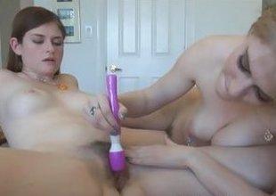 Lara Brookes Allie James pussy eating