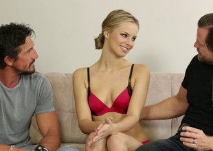 Paradoxical cuckold fuck where say no to husband watches say no to team fuck a man