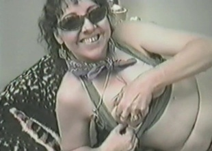 Upbeat unprofessional pornstar more simple tits gives a blowjob jibe masturbating more a bauble