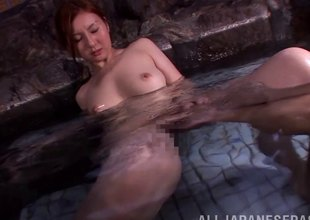 Hot collyrium majority with a hot Japanese hotty go off at a tangent makes him cum