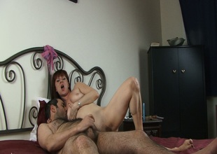 Sexy ignorance weenie patsy gets nailed doggy style not far from bed
