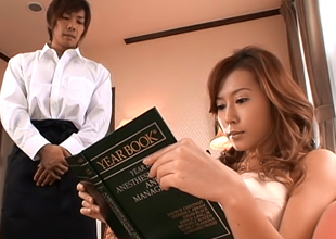 Inviting Asian Babe Hikari Kirishma Gives Amazing Titty Fuck