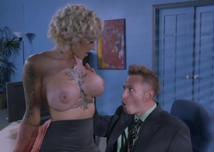 Herculean tits office slut drilled until exhaustion