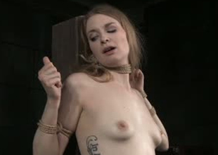 Ambit skinned botch Ela Darling is toy fucked in Sadomasochism porn video