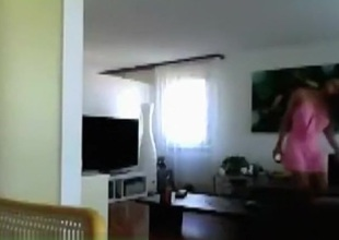 Cute cutie undressed in web camera