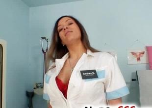 Busty nurse Stella Belial priceless big tits