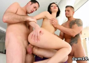 Lina Arian choked and ass hammered in sort out
