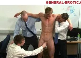 Office dealings with tugjob
