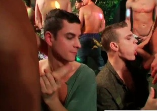 Group of amazing drunk homosexual guys