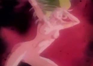 Combat plus sex in a wild manga scene