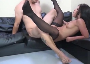 Big dick nails slay rub elbows with snatch of chap-fallen Adriana Chechik