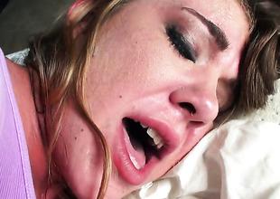 Anna Nervousness receives an anal gangbang