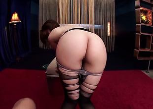 Hirono Imai demonstrates her body out before she masturbates