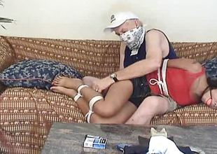 Eaten up Oriental gets her pussy fingered