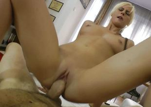 Dirty kirmess is fucked steadfast by Rocco Siffredi