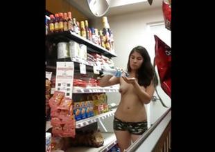 Fapping At Walmart
