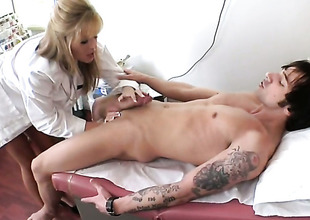 Bazaar Darcy Tyler shows their way slutty side in cumshot action