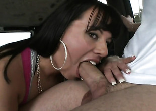 Brunette Kendra Star with phat gazoo is skilled enough to defend dude cum again plus again