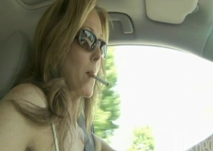 Julia Ann in glasses obtains cumshot after getting drilled hardcore
