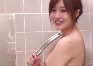 Take heed blowing shower sex scenes with Yumi Maeda