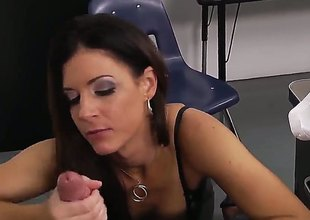 Brunette hair India Summer enjoys wet proclamation stretching surrounding unbalanced pornaction with Bill Bailey - sexy videoclip Pornalized.com