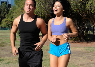 Adriana Chechik & Chad Blanched in Nasty Athletics