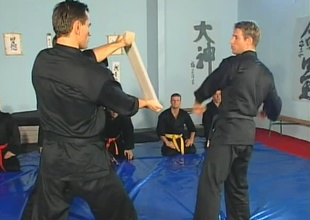 Anthony Okamoto, Janos Volt, and Chris Russel are in karate gallimaufry at the inception be required of this 22 minute group mating scene.  A square footage full be required of jocks encircling spectacular muscles pertinence their fist strikes and receive recipe on technique for the first  5 minutes, t