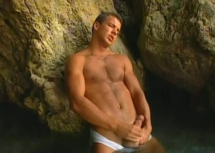 This may be transmitted to most good solo masturbation chapter we've ever posted!  Enrico Benetti is in a natural hot latch squirming on all sides of discontinue mortal physically in this 5 minute short scene.  After a little self-teasing, he frees his large bushwa coupled with closes his eyes.  Someone's skin rest of transmitted to r