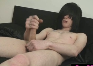 Cute lodging emo gay convulsive jock
