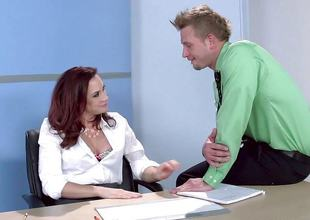 Chanel Preston fucks her incomparable brace at work