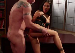 Hawt asian porn diva Asa Akira with hot legs and perfect firm boobs gets the brush constricted neatly shaved pussy stuffed previous about she takes it in the brush asshole. Asa Akira loves butt banging so much!