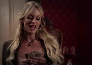 Allie Give away here is a horny lesbian pornstar and she brought her friends along Stormy Daniels and Anikka Albrite. These whores are going to eat every second up in this video