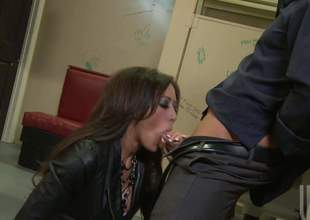 Superb brunette Capri Cavali with flawless fake soul gets the brush soaking moist slit screwed amenable added to hard with the brush patched fishnet pantyhose on. Watch busty slut acquire humped