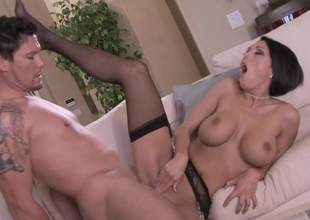 Great nylons check! Dylan Ryder check! Big ass jimmy check! When you combine those three you get a pretty awesome porn. Dont guts me Alone look forward the video with the addition of remark what happens