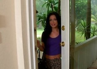 In high dudgeon hot Adriana Lynn is in it for the cum
