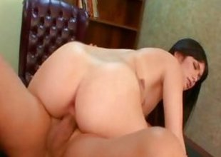 Ashlyn Rae rides will not hear of pussy on this hard dig up
