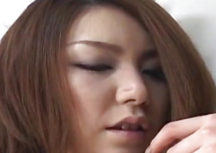 Rio Sakaki big-busted has soft vagina pumped