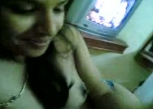 My Indian web camera fellow shows say no to natural tits to me