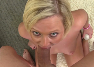 Charming blonde at a high Anna Joy sucks hard weasel words of Vexillum warn H on POV camera