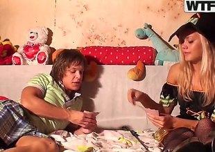 Ivanka receives electrified convulsion anally pumped