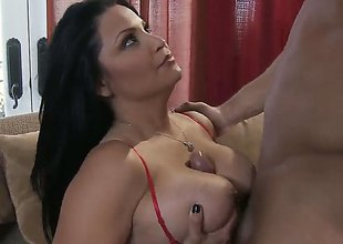 Danny Mountain drills dangerously alluring Sophia Lomelis dote on aperture to every sex positon